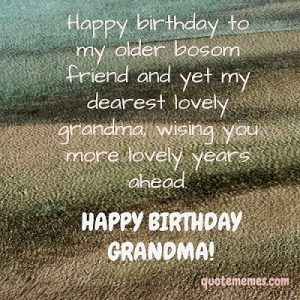 birthday message for grandma i love you quote memes