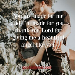 We are made for one another