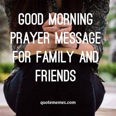 good morning prayers