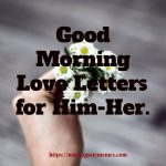 Good Morning Love Letters for Him-Her