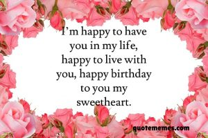 birthday paragraph for wife