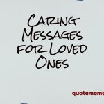 Caring messages