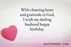 happy birthday paragraph for husband