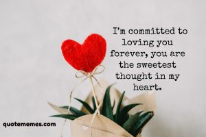 i'm committed to loving you