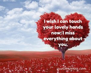 I miss you like crazy SMS