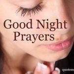 Good night prayers