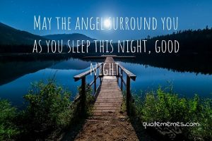 good night prayer quote