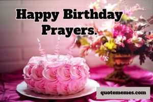 happy birthday prayers
