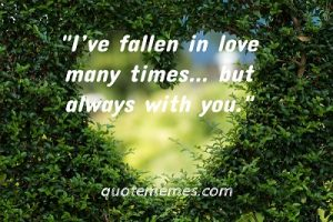 romantic love quote for her