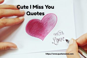 Cute I Miss You Quotes for Him_Her